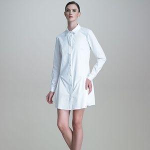 Thakoon drop waist poplin shirtdress